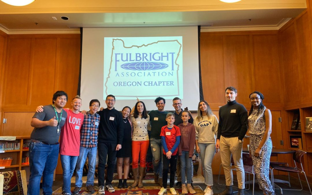 Meet-and-Greet for Fulbrighters in Eugene-Springfield
